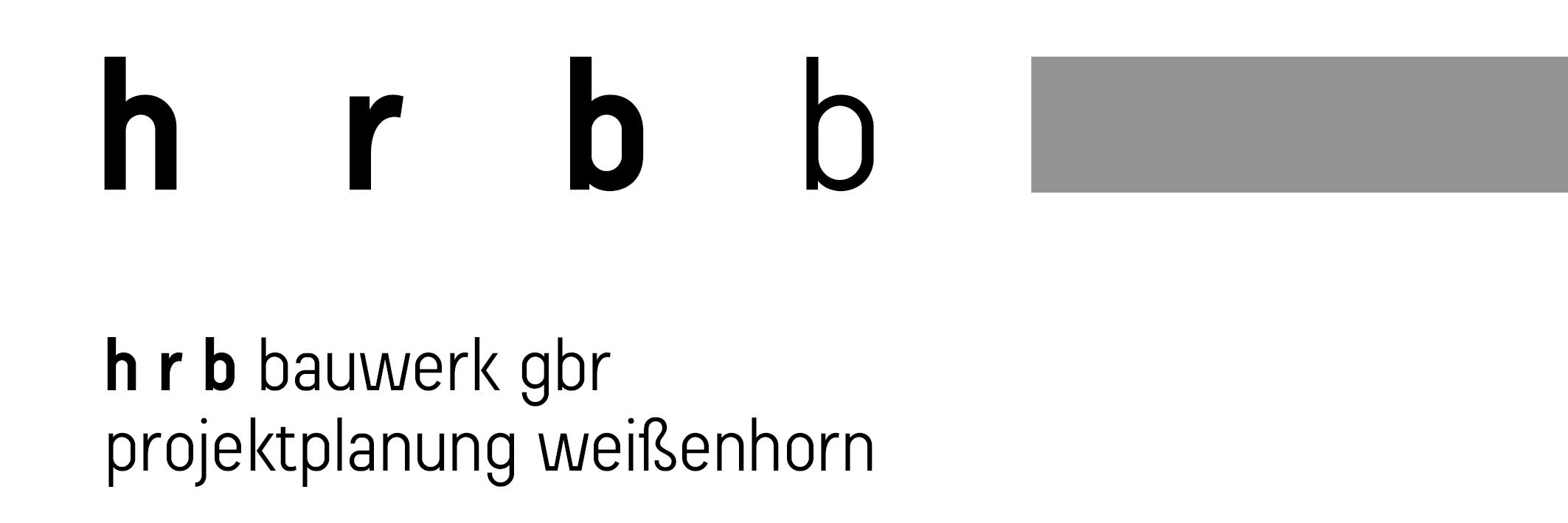 Logo hrbb mit Balken
